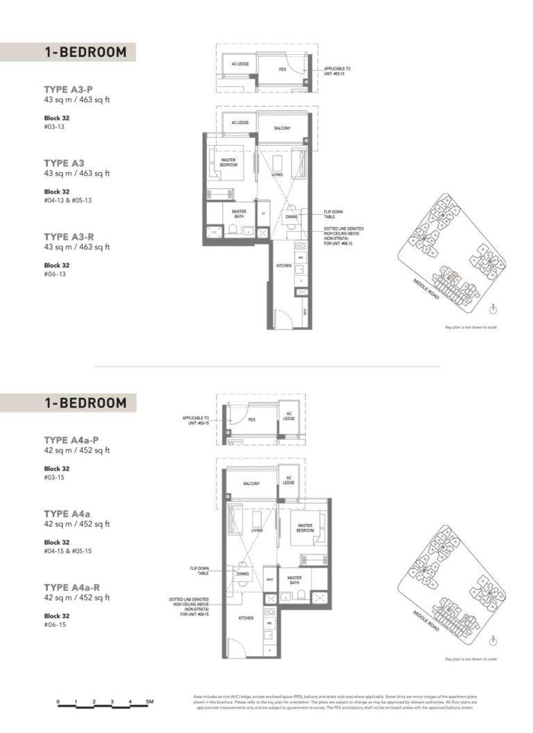 The-M-Floor-Plan-type-a3p-1-bedroom-463-sqft