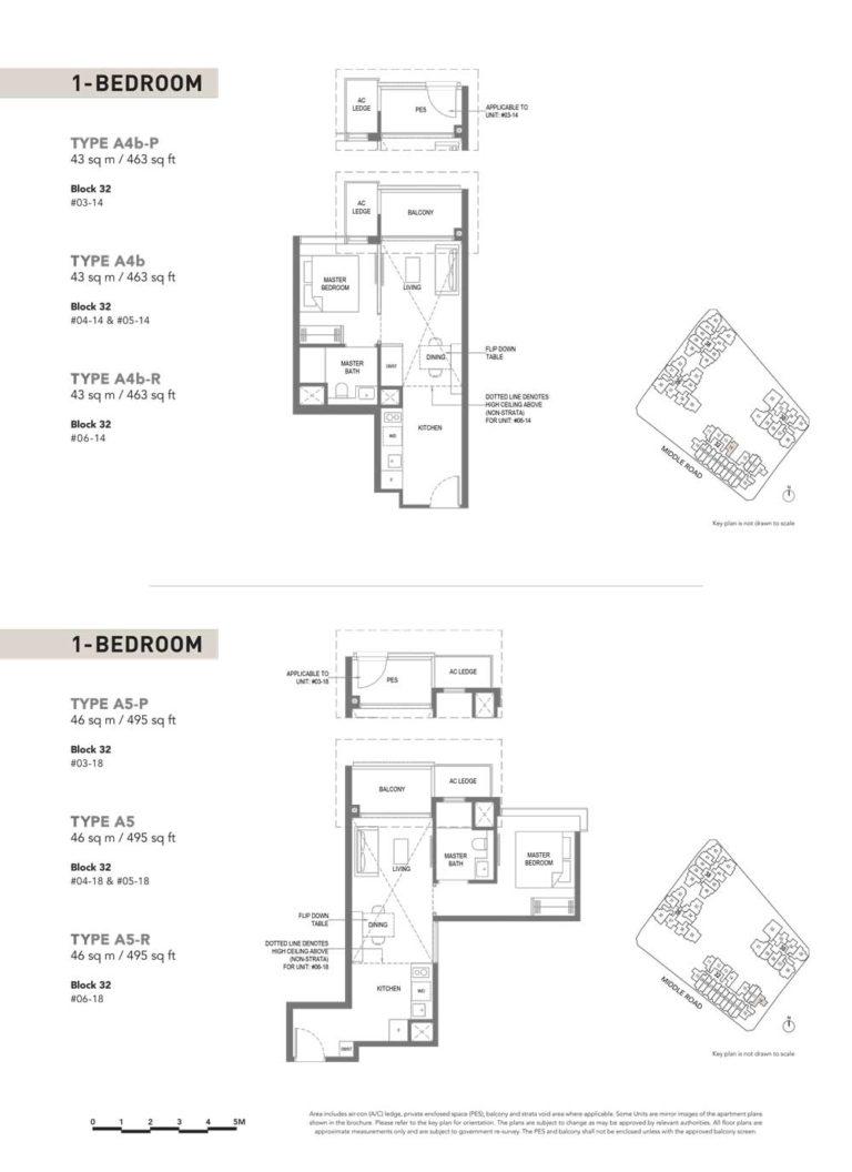 The-M-Floor-Plan-type-a4bp-1-bedroom-463-sqft