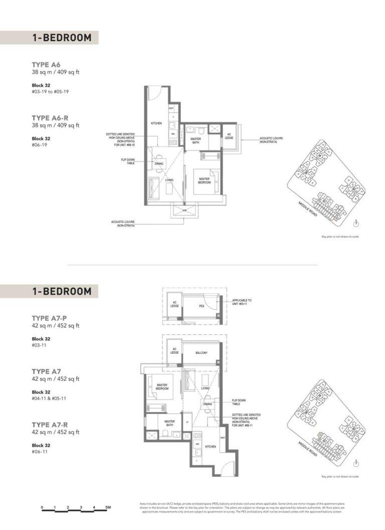 The-M-Floor-Plan-type-a6-1-bedroom-409-sqft