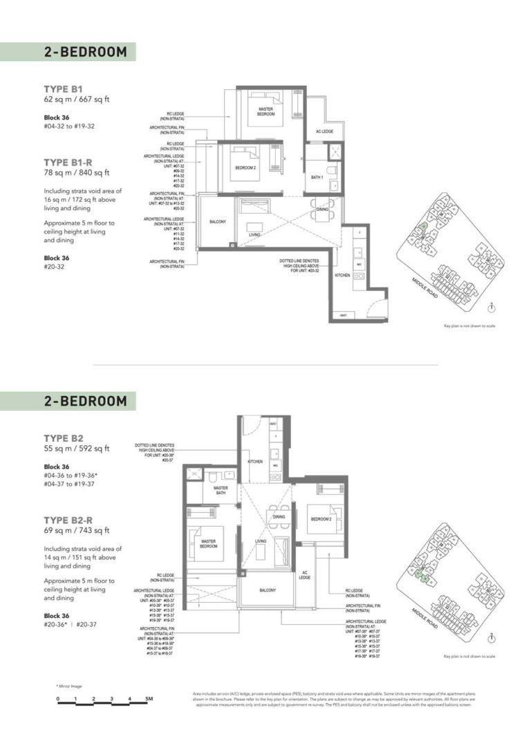 The-M-Floor-Plan-type-b1-2-bedroom-667-sqft