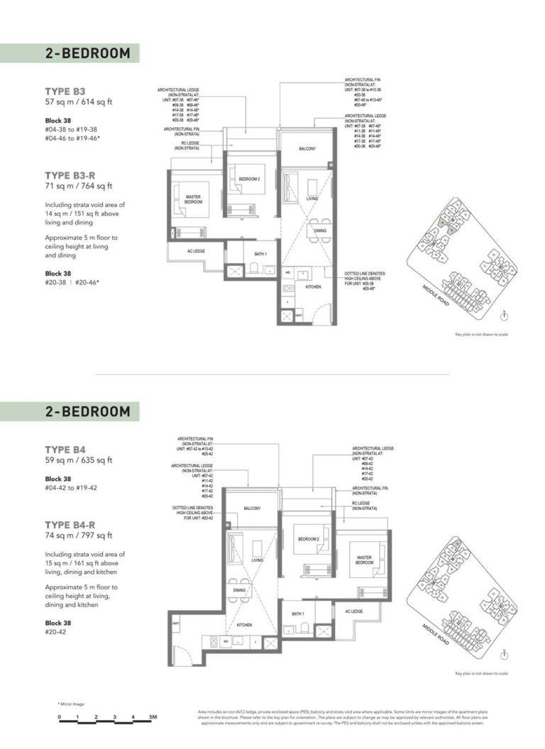 The-M-Floor-Plan-type-b3-2-bedroom-614-sqft