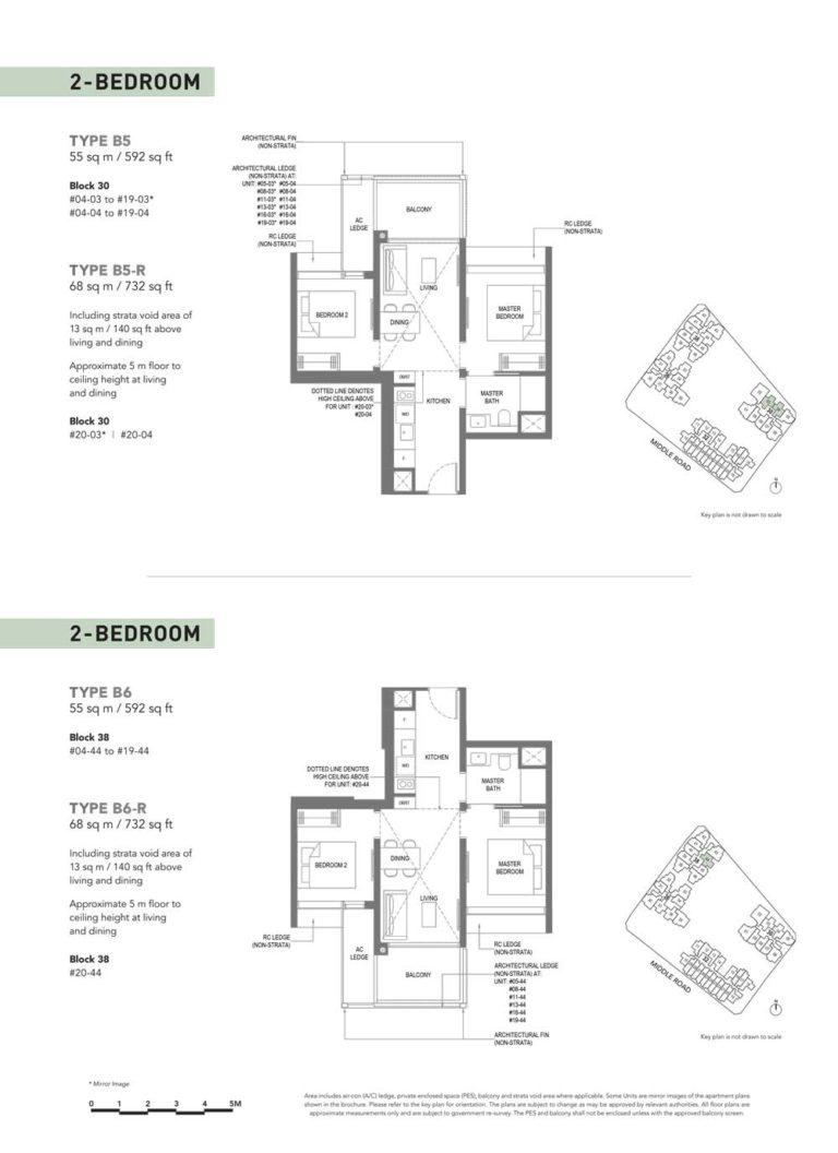 The-M-Floor-Plan-type-b5-2-bedroom-592-sqft