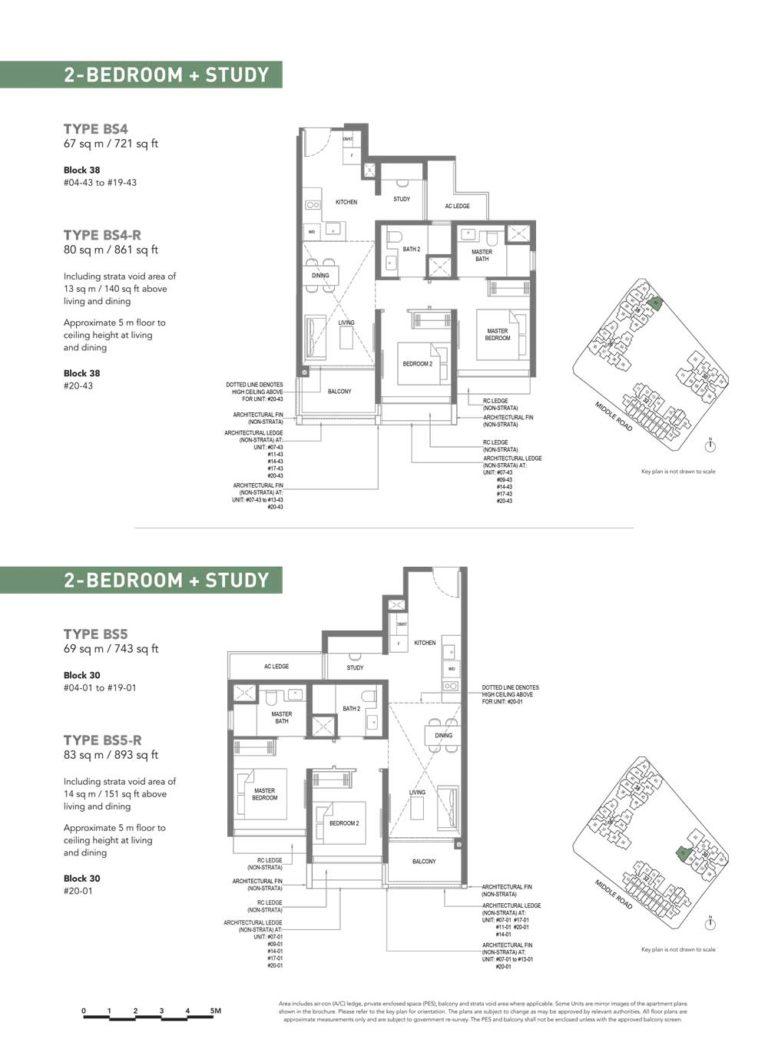 The-M-Floor-Plan-type-bs4-2-bedroom-study-721-sqft