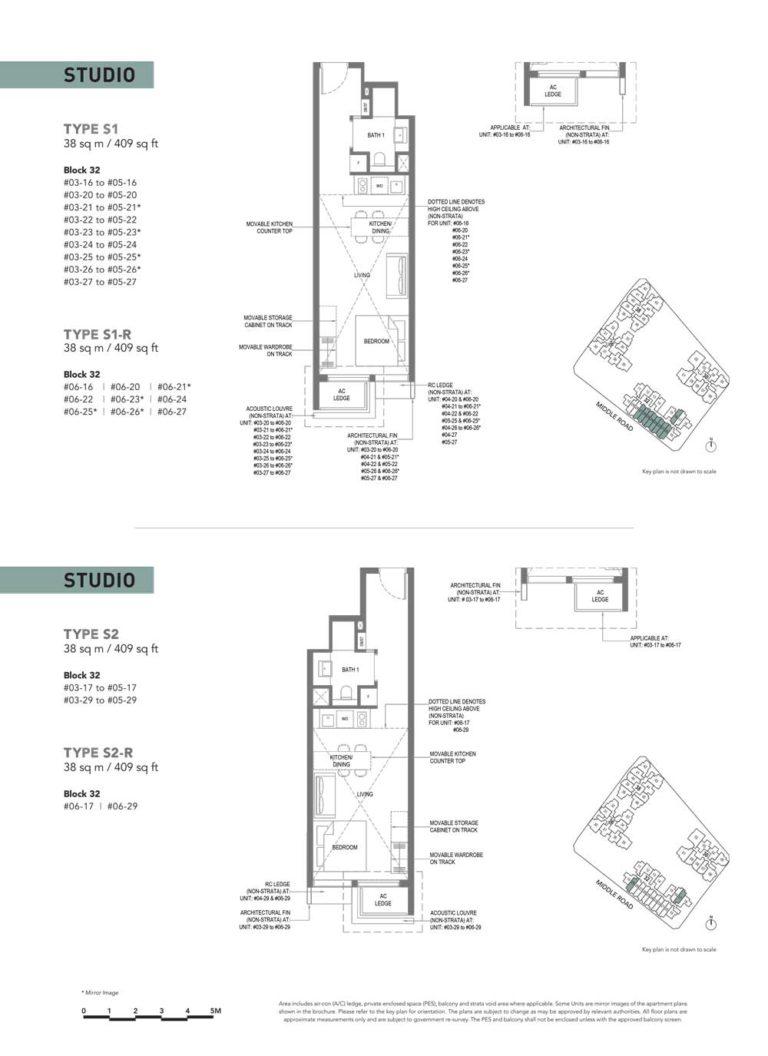 The-M-Floor-Plan-type-s1-studio-409-sqft